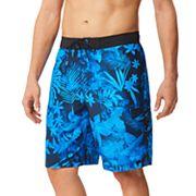 Men's Speedo Marble Floral Board Shorts