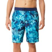 Men's Speedo Marble Floral Board Shorts