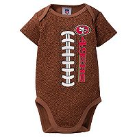 Baby San Francisco 49ers Football Bodysuit