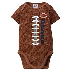 Baby Chicago Bears Football Bodysuit