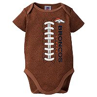 Baby Denver Broncos Football Bodysuit