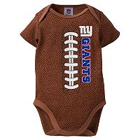 Baby New York Giants Football Bodysuit