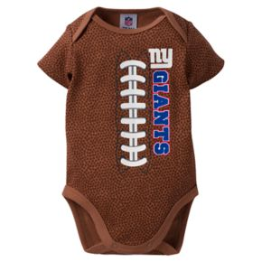 Baby New York Giants Football Bodysuit