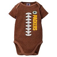 Baby Green Bay Packers Football Bodysuit