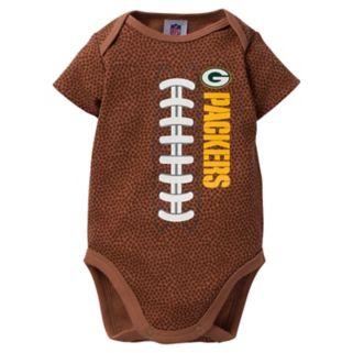 Baby Green Bay Packers Football Bodysuit