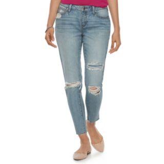 Women's Jennifer Lopez Midrise Skinny Ankle Jeans
