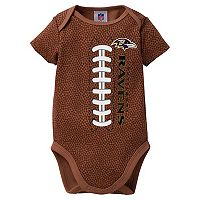 Baby Baltimore Ravens Football Bodysuit