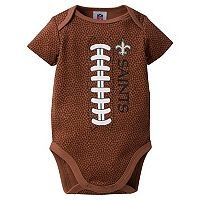 Baby New Orleans Saints Football Bodysuit
