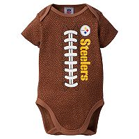 Baby Pittsburgh Steelers Football Bodysuit