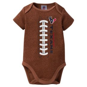 Baby Houston Texans Football Bodysuit
