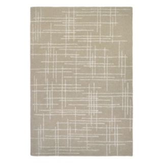 Couristan Super Indo-Natural Cresson Geometric Wool Rug