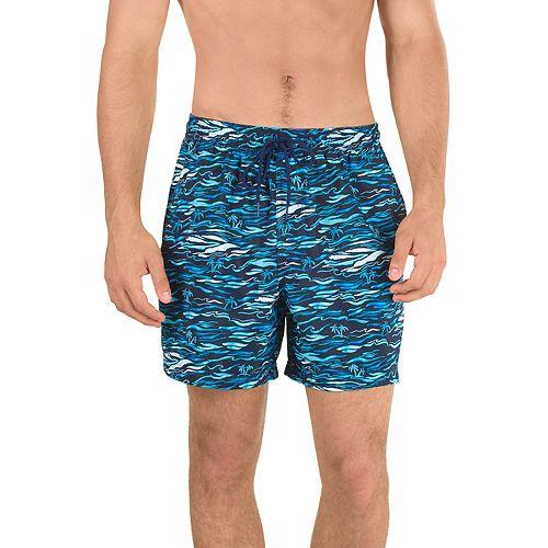 Men's Speedo Current Shore Elastic-Waist Swim Shorts