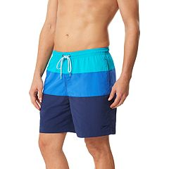 Men's Speedo Colorblock Volley Swim Shorts