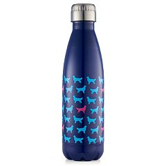 Wellness Double-Wall Stainless Steel 17-oz. Printed Water Bottle