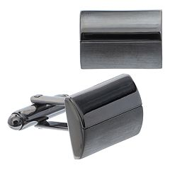 Men's Apt. 9® Domed Gunmetal-Tone Cuff Links