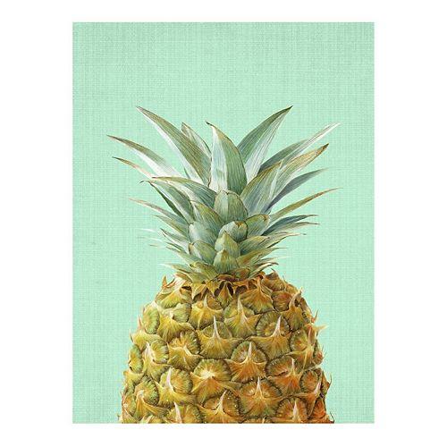 Art.com Peek-A-Boo Pineapple Wall Art Print