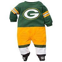 Baby Green Bay Packers Football Gear Bodysuit