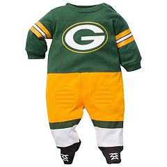 Baby Green Bay Packers Football Gear Bodysuit