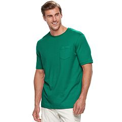 Big & Tall Croft & Barrow® Classic-Fit Easy-Care Interlock Tee