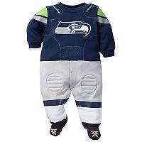 Baby Seattle Seahawks Football Gear Bodysuit