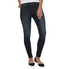 Women's Jennifer Lopez Midrise Skinny Jeans