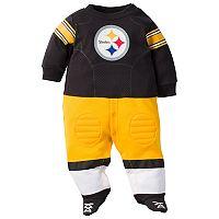 Baby Pittsburgh Steelers Football Gear Bodysuit