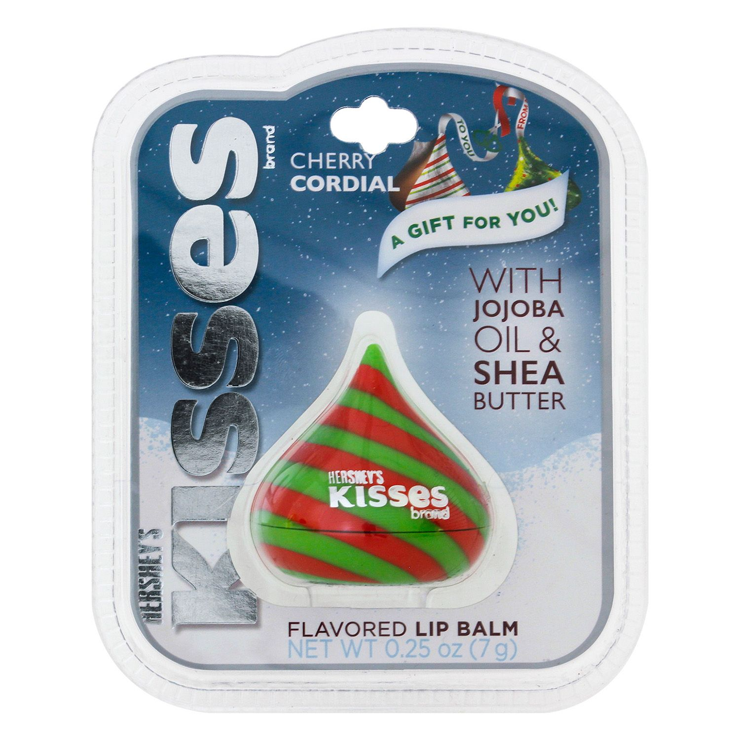kisses flavored lip balm