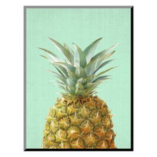 Art.com Peek-A-Boo Pineapple Mounted Wall Art Print