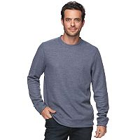 Men's Croft & Barrow® Classic-Fit Heavyweight Ribbed Crewneck Tee