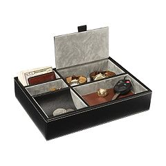 Nifty Leather Valet Tray