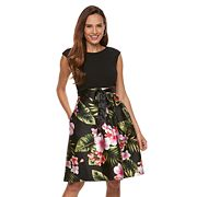 Petite Chaya Floral Skirt Dress