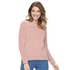 Women's Croft & Barrow® Chenille Boatneck Sweater