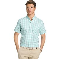 Men's IZOD Checked Button-Down Shirt
