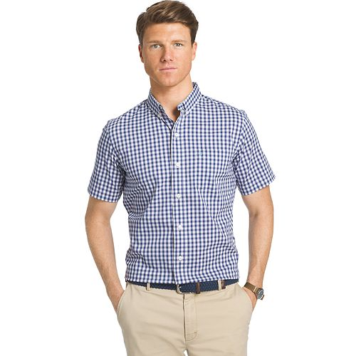 Men's IZOD Checked Button-Down Shirt