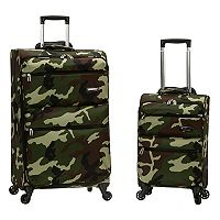 Rockland Gravity 2 pc Spinner Luggage Set