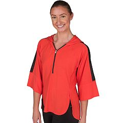 Women's Jockey Sport Flight Mesh Insert Hoodie
