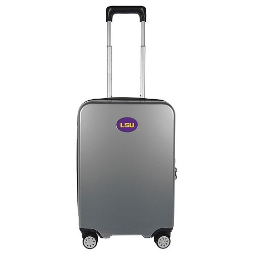 LSU Tigers 22-Inch Hardside Wheeled Carry-On with Charging Port