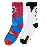 Boys Avengers 5-pk Crew socks.