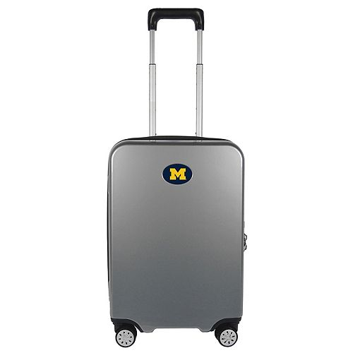 Michigan Wolverines 22-Inch Hardside Wheeled Carry-On with Charging Port