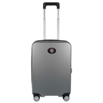 New Mexico Lobos 22-Inch Hardside Wheeled Carry-On with Charging Port