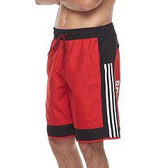 Men's adidas Jumpshot Colorblock Microfiber Volley Swim Trunks