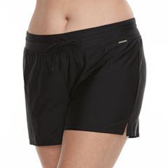 Plus Size ZeroXposur Solid Swim Shorts