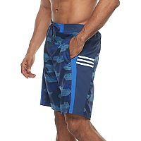 Men's adidas Sur Shot Camo 4-Way Stretch E-Board Shorts