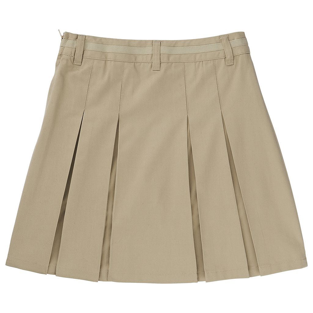 Girls 4-20 French Toast School Uniform Kick Pleat Skort
