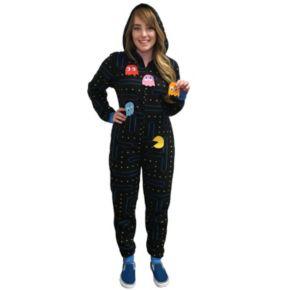 Juniors' Pac-Man Costume One-Piece Pajamas