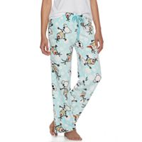 Disney's Frozen Juniors' Olaf Fleece Lounge Pants