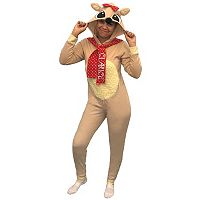 Juniors' Rudolph The Red-Nosed Reindeer Clarice Costume One-Piece Pajamas
