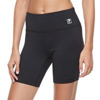 Women's FILA SPORT® High-Waist Fitted Shorts