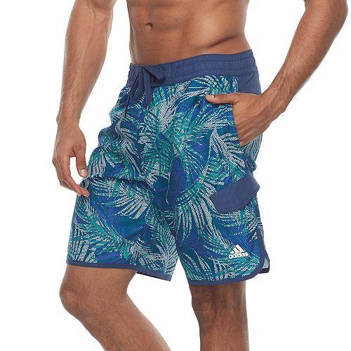 Men's adidas Tri Palms Microfiber Volley Shorts