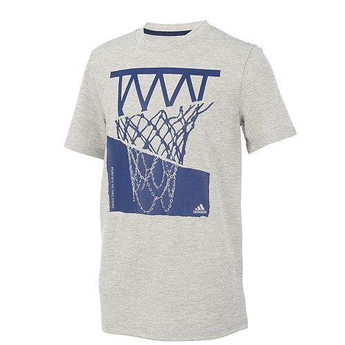 Boys 8-20 adidas Hacked Hoop Basketball Graphic Tee